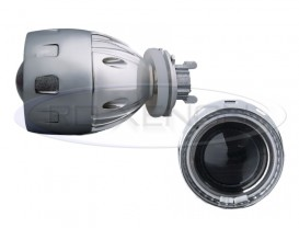 Proiectoare Lupa Bi-Xenon cu AngelEyes Alb - 2GA