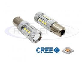 LED P21W (BA15S) CREE 80W