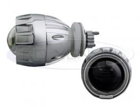 Proiectoare Lupa Bi-Xenon cu AngelEyes Alb - 2GE