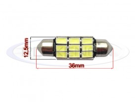 LED Festoon (Sofit) 36mm 9 SMD 5730