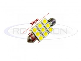 LED Festoon (Sofit) 39mm 9 SMD