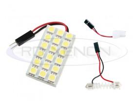 LED Festoon (Sofit), T10, Autoadaptabil 18 SMD