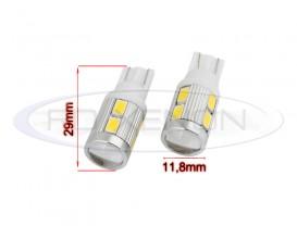 LED T10 (W5W) 10 SMD 5730