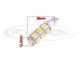 LED T10 (W5W) 13 SMD