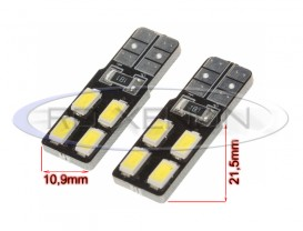 LED T10 (W5W) 4 SMD 5730 CANBUS Placuta