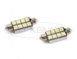 LED Festoon (Sofit) 41mm 8 SMD CANBUS