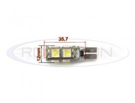 LED T10 (W5W) 9 SMD CANBUS 24v