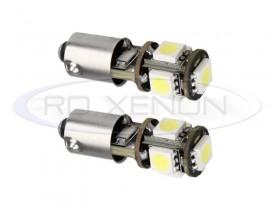 LED BA9S 5 SMD CANBUS