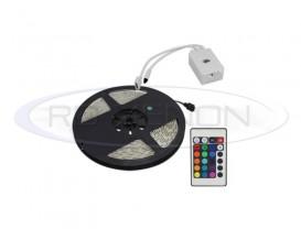 Banda 300 LED 5050 RGB - 500 cm Impermeabila