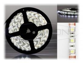 Banda 300 LED 5050 ALB - 500 cm Impermeabila