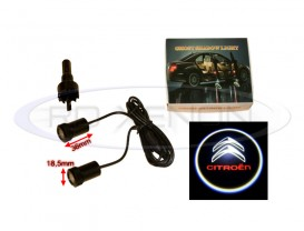 Set LED Logo Laser Cree 7W - CITROEN