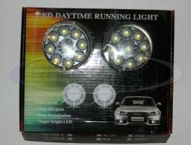 DRL 9-LED 1W - ⌀ 86mm