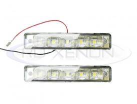 DRL 5-LED 5050 3-Chip - 150mm x 29mm