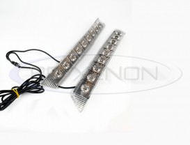DRL 9-LED Flux - 298mm x 31mm
