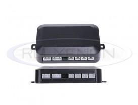 Set 4 Senzori Parcare - Display LCD, Avertizare Sonora