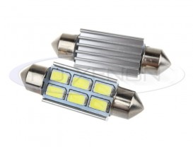 LED Festoon (Sofit) 41mm 12 SMD 5730 CANBUS