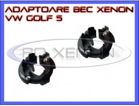 Set Adaptoare Bec VW Golf 5, Caddy, Touran