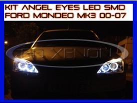 Kit Angel Eyes LED SMD - Ford Mondeo MK3 2000-2007