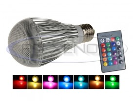 Bec LED Economic 10W RGB